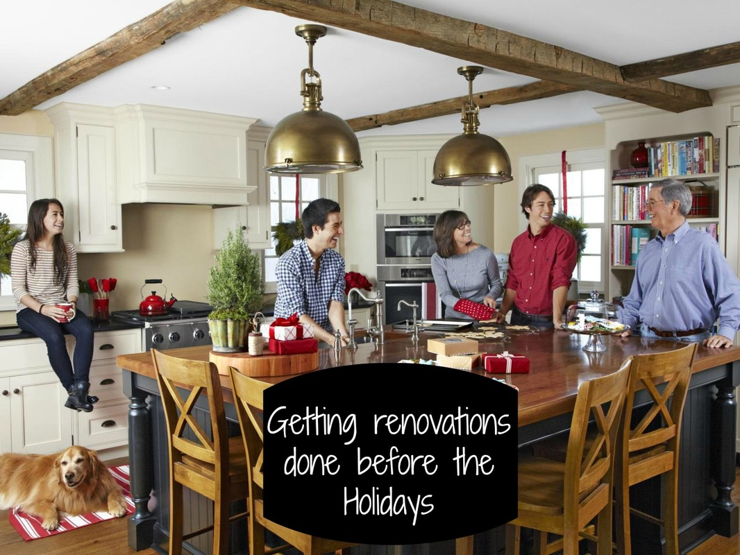 Getting Renovations Done In Time For The Holidays Design With Tile